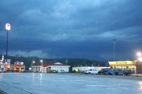 Going through some old storm photos This one was taken on March 2, 2012 in North Georgia, near the Chattanooga, TN line.