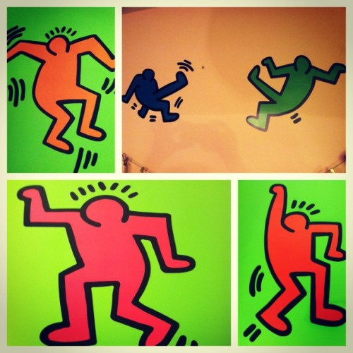 better-things-await:  #picstitch my favorite artist #keithharing now in my room ☺