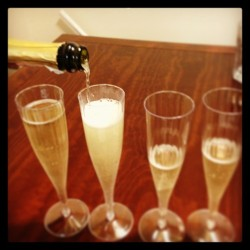 Happy New Year TOAST! #toast #new #year #champagne #prosecco #cheers #celebrate #fun #2013
