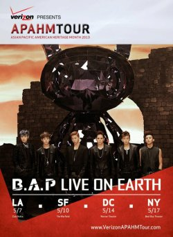 Preapare US Babyz~!!! B.A.P is going to conquer your country~! who's going?? if you are…you're soooooo lucky!!!!! click for more NEWS or KPOP