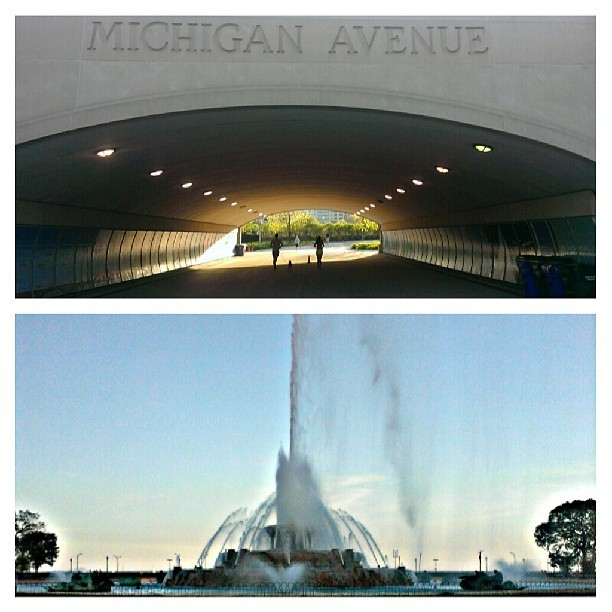 #MagnificentMile #BuckingHamFountain