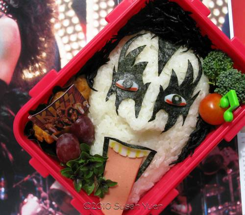 KISS bento box. 'nough said.