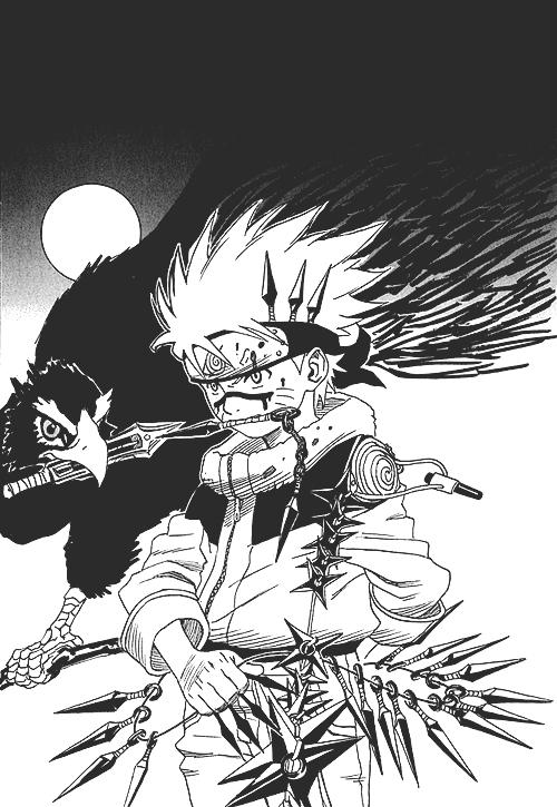 naruto masashi kishimoto mangacap mangaart monochrome b&w black and white