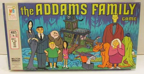 The Addams Family Game (1973) [from anToyquity on Facebook, thks to PDT]