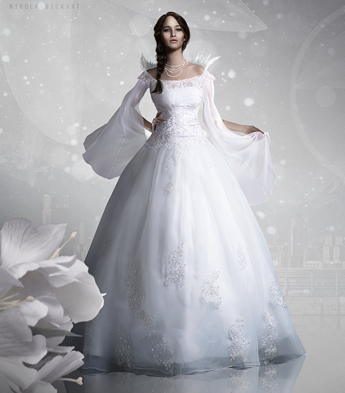 Capitol Couture - Katniss' Wedding Dress [X]