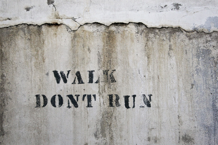 Walk, Don't Run, Factory, 2012 - print available