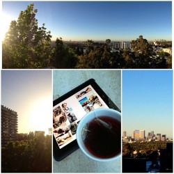 Via @hermanphoto: #mycurrentsituation #rooftop #breakfast whilr reviewing the moodboard for todays #photoshoot with @modelomilano! 😁😁 #sunrise #lovemylife #lovemyjob #nodaysoff #fashion #swimwear #sexy #model #tea #ipad #la #losangeles #cali #hollywood #weho #westcoast #city #sky #moda #modelo #azotea #mode #mannequin #maillotdebain