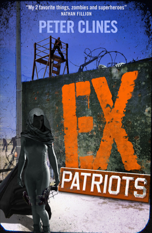 EX-PATRIOTS by Peter Clines, Book Two in the EX series, is now out to buy on eBook from Del Rey!  Two years since the plague of ex-humans spread through the world destroying our civilization and only small strongholds of humanity are left alive.  At the Mount in L.A., a fortified movie studio protected by the last of America's superheroes, St. George, Stealth, Cerberus and Zzzap hold the line against a never ending army of exs … but even they can't hold out forever.  Hope comes in the form of a military drone bringing news of 'Project Krypton'. But will salvation come at a price?  'Ex-Patriots is bigger, better, and more explosive. When superheroes meet zombies, the only losers are the people who aren't reading' Mira Grant, New York Times bestseller