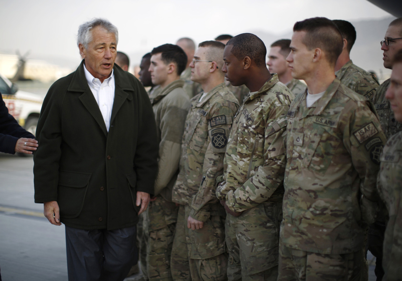 "It was a harrowing international debut for Chuck Hagel, whose first trip to Afghanistan as U.S. defense secretary went dramatically off-script and challenged the American narrative about the 11-year-old war. His first full day in Afghanistan began with the sound of suicide bomb attack about a kilometer away from his morning meetings at a NATO facility. But the real damage came the next day when Washington's mercurial ally in the war, Afghan President Hamid Karzai, accused the United States of colluding with the Taliban hours before the two met. Put in an awkward position, Hagel appeared cautious and at pains to avoid sharply criticizing the Afghan leader, even as he firmly disputed Karzai's assertions. Having weathered a brutal confirmation battle last month, the former two-term Republican senator at one point even appeared to commiserate with Karzai. ""I was once a politician,"" Hagel, 66, told reporters traveling with him. ""So I can understand the kind of pressures - especially leaders of countries - are always under."" READ ON: Cautious Chuck Hagel focuses on troops during Afghan visit"