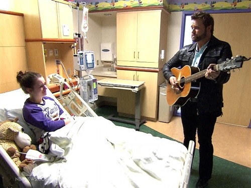 Group brings healing power of music to hospitals across the US (Photo: NBC Nightly News) At the Vanderbilt Children's Hospital in Nashville, Tenn., it is not uncommon for the crisp, clean, soothing sound of an acoustic guitar to echo down the hallway. Read the complete story.