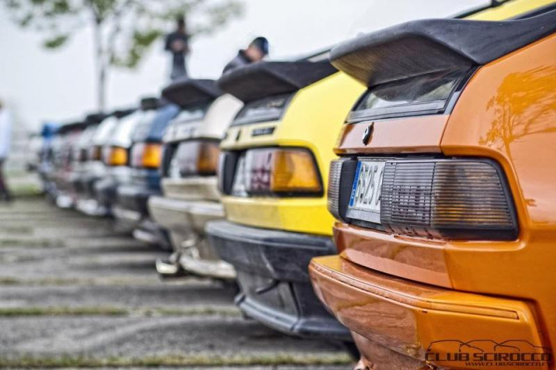 Scirocco MKII rear ends.