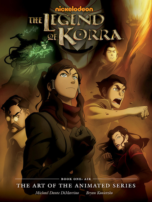 "giancarlovolpe:  rufftoon:  korranation:  Check out the cover of the new LoK art book - arriving from Dark Horse in July. More from MTV Geek here.  Korra Art Of Book! AAAAAAAAAAAAAAAAAAHHHH!!!!!!  I believe the term is ""shut and take my money"""
