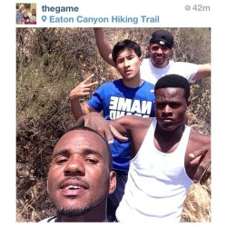 @TheGame Posted this Pic @EatonCanyon Saying there Lost! Hope he's Good there trying to find 2nd water fall!