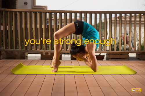 You're strong enough!