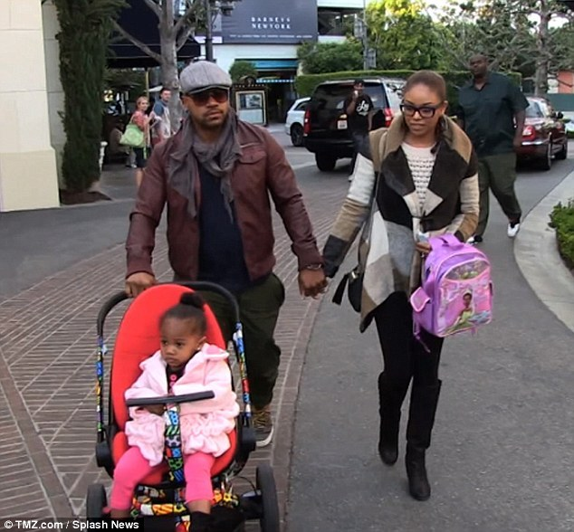 Photo of Columbus Short & his  Daughter  Ayala Short