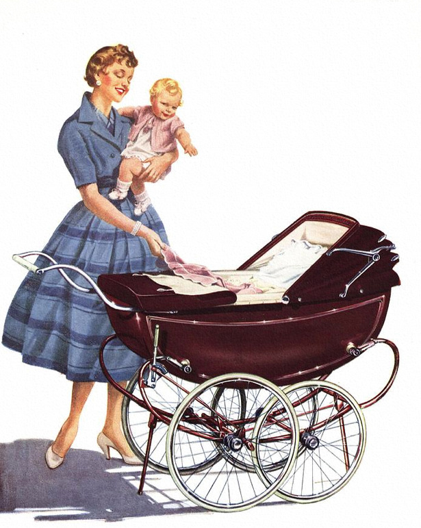 rogerwilkerson:  UK Baby Carriage