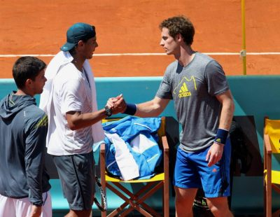 iloveandymurray:  soderrota:  I think they're the only guys in the Big 4 who will keep in touch after retirement.  RafAndy :)