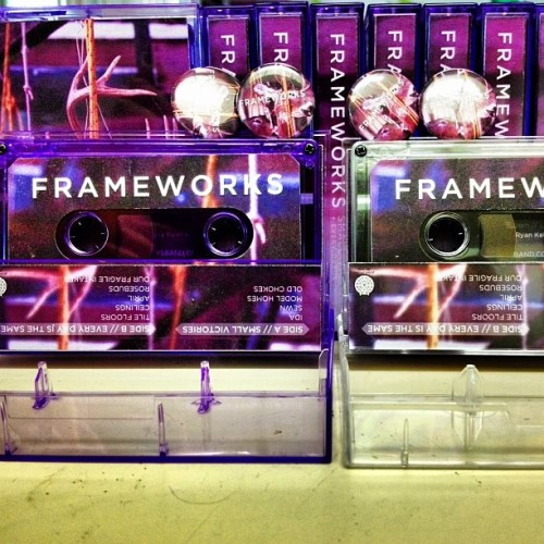 Frameworks tapes are finally done and pre-orders have already shipped!
