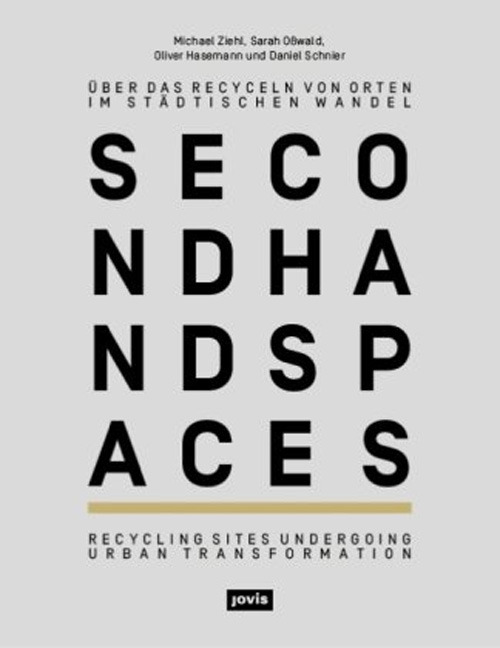 humanscalecities:  Second hand spaces Recycling Sites Undergoing Urban Transformation At vacant sites, second hand spaces draw on the atmosphere, the traces, the remains, and the history of their previous uses. Their actors develop an individual aesthetic out of the site that stands out due to its simplicity and improvised quality. New ideas are tested, and elements of surprise are created in the city.