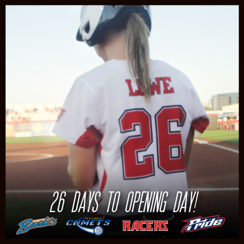 26 days until opening day!  June 5, 2013