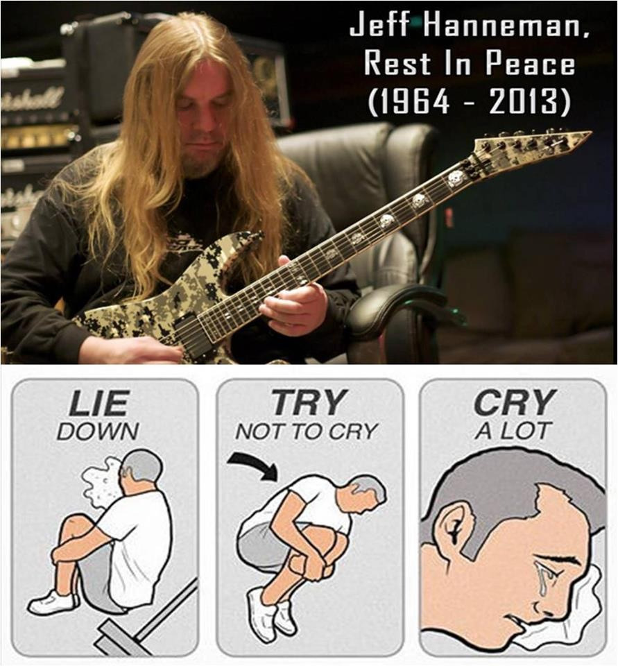 long-live-metal:  :'( Rip Jeff Hanneman