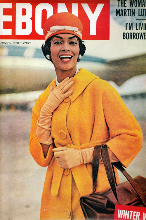 vintagegal:  Helen Williams on the cover of Ebony Magazine, January 1959