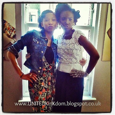 #Pout - #ShingaiShoniwa putting up with my crazy, at the Mayfair Hotel #London, Lol. #NaturalHair #Hairspiration