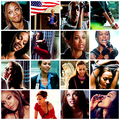 Zoe Saldana in The Losers - 290 icons @ citadel-icons.
