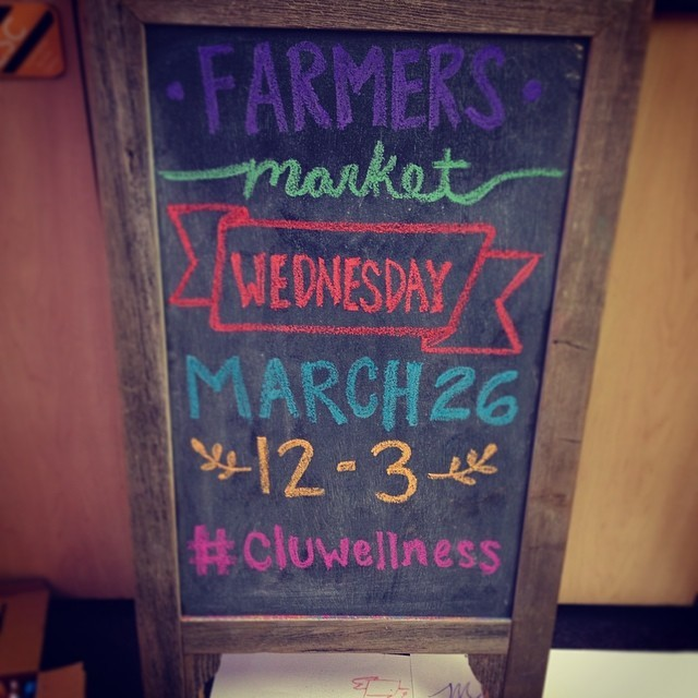 The Farmer's Market this week is on WEDNESDAY from 12pm-3pm in the SBET Alcove. Bring cash! See you there! 🍆🍅🌽🍊🍋
