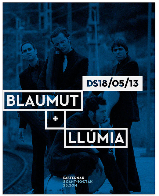 Blaumut Gig Poster on Flickr.
