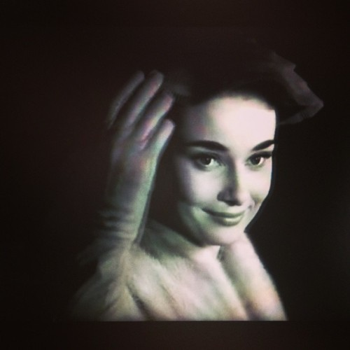 watching the #romanholiday~ #audreyhepburn is ❤❤❤ #classic #movie Happy Valentine's Day Everyone! May you all have a lovely day~ 😊💑👫💘♥💐