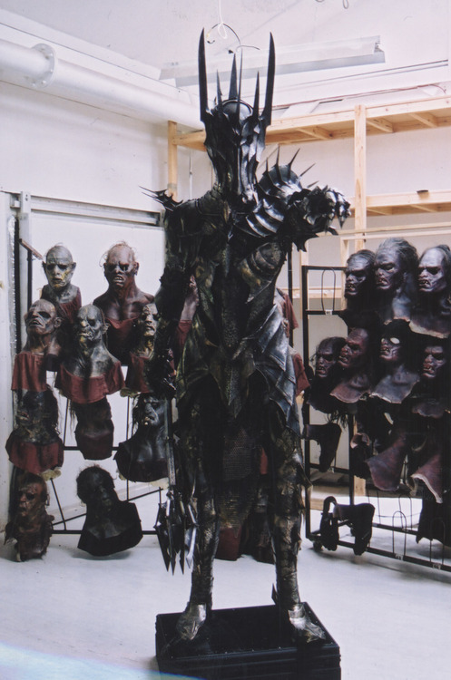 lindassneakers:  Sauron's armour worn in The Lord Of the Rings