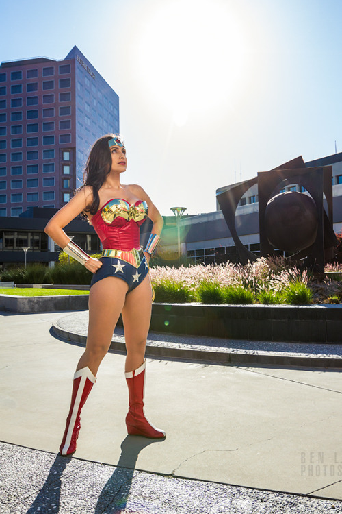 Wonder Woman Cosplay by Valerie Perez