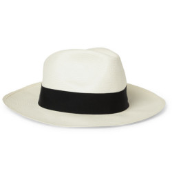 Get Gatsby w/this Borsalino large brim straw panama hat from @MrPorterLive shop it here: http://www.mrporter.com/product/338402