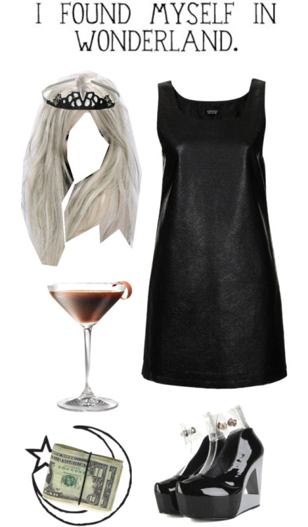 Lala Martinis by megancliffy featuring topshop dressesTopshop  dress / Bride hair accessory