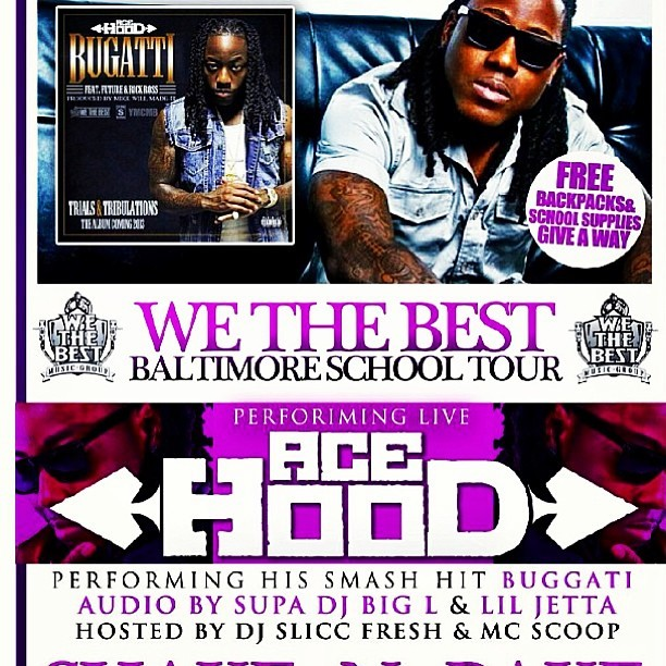 #SaveTheDate #March16th - #AceHood is Coming 2 #Baltimore , #DMV !!! Hit me up for More Info  (at WEAA 88.9 FM)