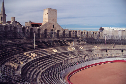 Arles, amphitheater on Flickr.