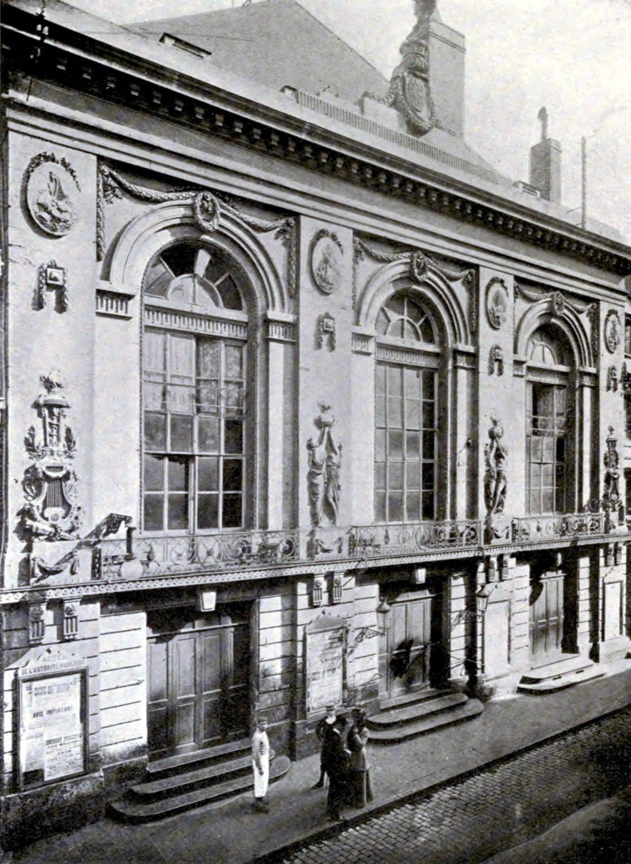 The theatre, Amiens