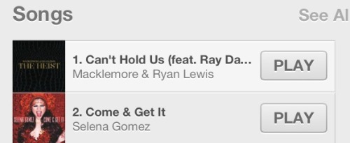 Selena is #2 on the iTunes Charts! Congrats @selenagomez!