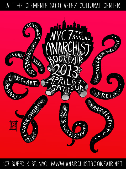 clevergrrl:  Anarchist Bookfair next weekenddddd  We'll be there, obviously.
