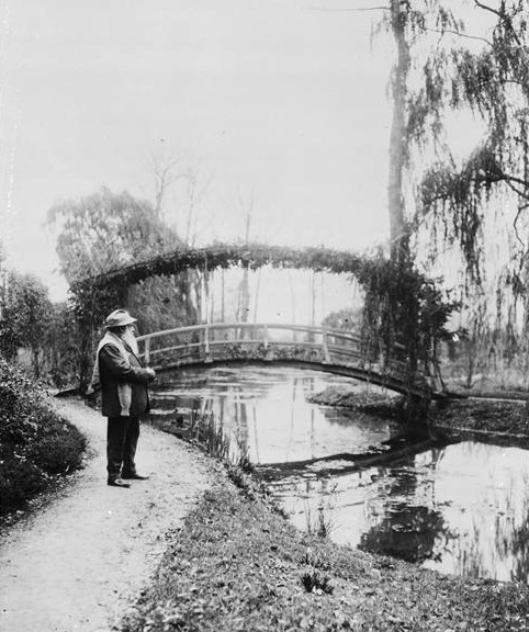 1bohemian:  Claude Monet, Giverny, France, 1922.