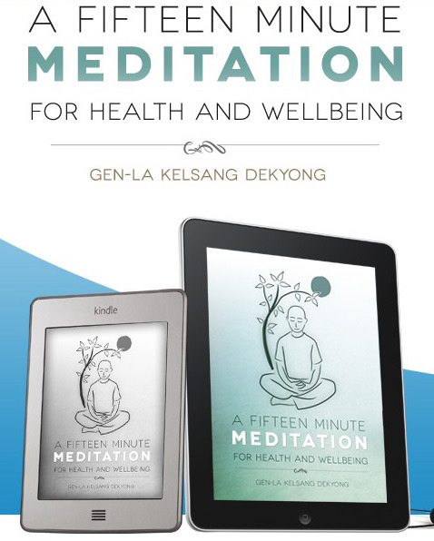 Download this free guided meditation and eBook: fifteenminutemeditation.com