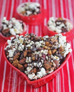 Dark Chocolate Almond Cranberry Trail Mix