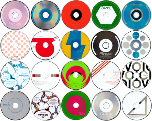 575roomdisco:  Random Perfume CD Covers