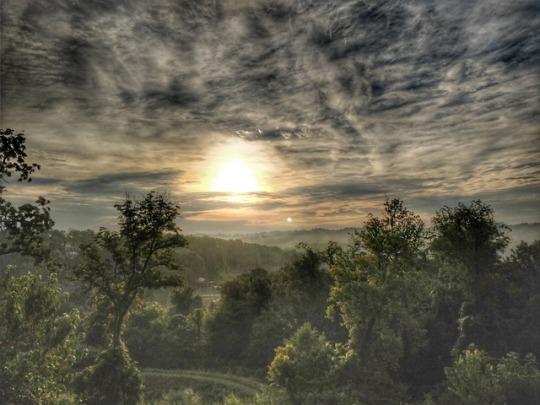 Western Pennsylvania mornings