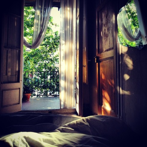 carolinedemaigret:  Nap bliss in Barcelona