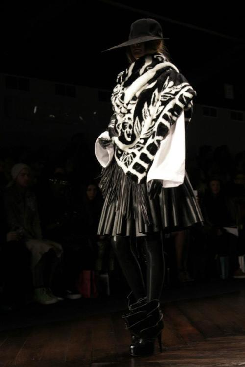 voltcafe:  KTZ - London Fashion Week, day 1