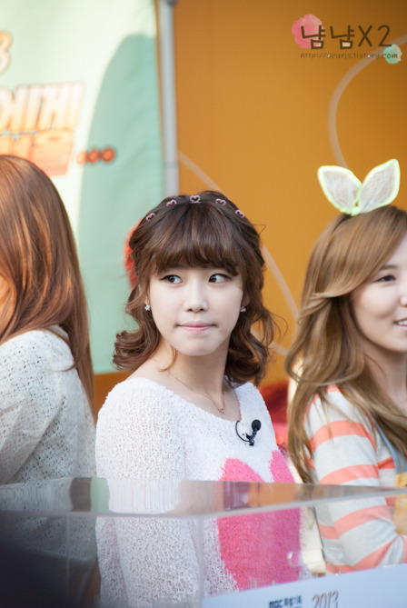 [FANTAKEN] New Life for ChildrenHyosung & Hana2013.04.24Source: dearjs DO NOT EDIT