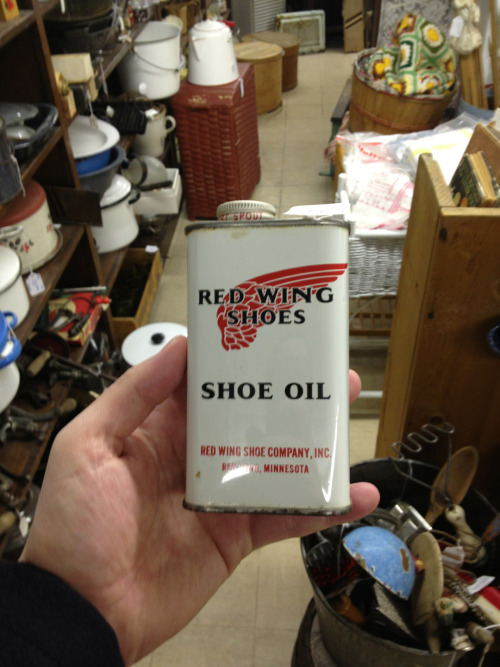 Red Wing boot oil.