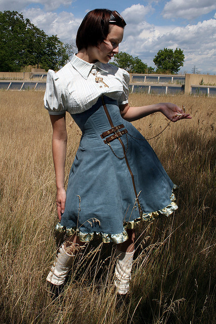 steampunkd:  Clothing by Scoundrelle's Keep Model: Hexane